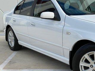 2004 Ford Falcon BA Futura White 4 Speed Sports Automatic Sedan