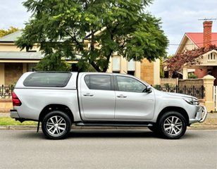 2017 Toyota Hilux GUN126R SR5 Double Cab Silver 6 Speed Sports Automatic Utility