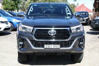 2018 Toyota Hilux GUN126R 4x4 Graphite 6 Speed Automatic Dual Cab