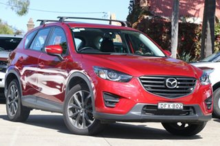 2015 Mazda CX-5 MY15 GT (4x4) Soul Red 6 Speed Automatic Wagon.