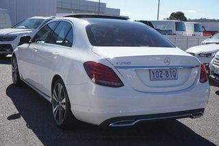 2015 Mercedes-Benz C-Class W205 C200 7G-Tronic + White 7 Speed Sports Automatic Sedan