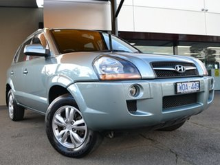 2008 Hyundai Tucson JM MY09 City SX Blue Gem 4 Speed Sports Automatic Wagon.