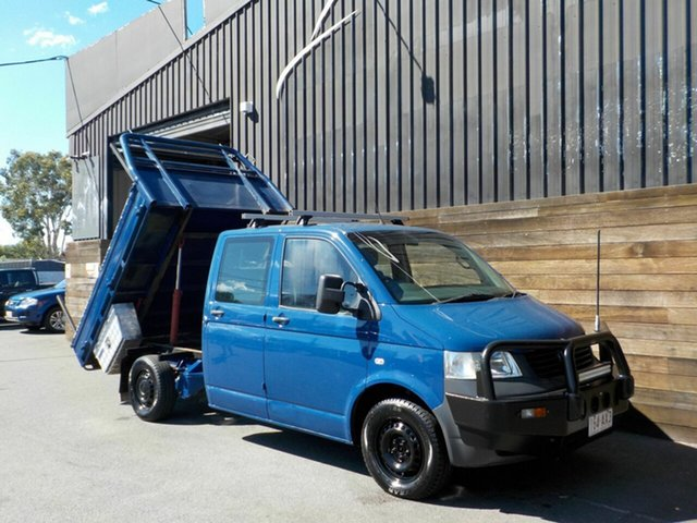 Used Volkswagen Transporter T5 MY09 4MOTION Labrador, 2009 Volkswagen Transporter T5 MY09 4MOTION Blue 6 Speed Manual Cab Chassis