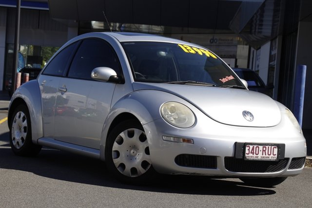Used Volkswagen Beetle 9C MY2008 TDI Coupe Mount Gravatt, 2008 Volkswagen Beetle 9C MY2008 TDI Coupe Silver 5 Speed Manual Liftback