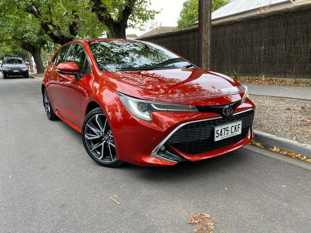 Pre-Owned Toyota Corolla Mzea12R ZR Hawthorn, 2018 Toyota Corolla Mzea12R ZR Red 10 Speed Constant Variable Hatchback