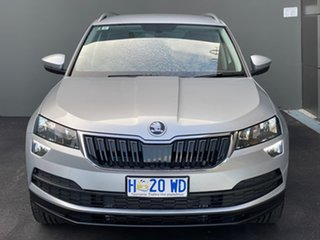 2018 Skoda Karoq NU MY18 110TSI DSG FWD Silver 7 Speed Sports Automatic Dual Clutch Wagon.