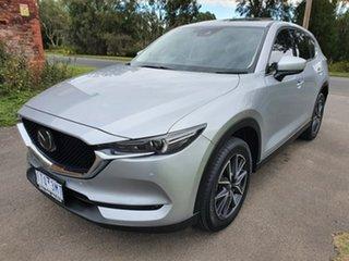 2017 Mazda CX-5 KF Series Akera Silver Sports Automatic Wagon.