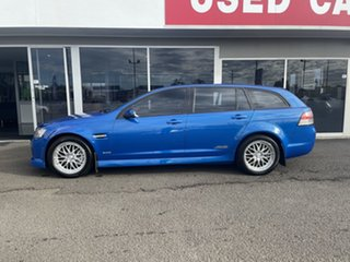 2009 Holden Commodore VE MY09.5 SS V Sportwagon Blue 6 Speed Sports Automatic Wagon
