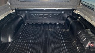 2005 Nissan Navara D40 ST-X White 6 Speed Manual Utility