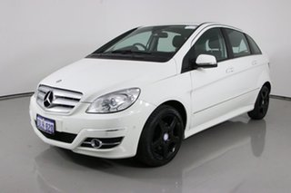 2010 Mercedes-Benz B180 245 MY10 CDI White Continuous Variable Hatchback