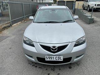 2008 Mazda 3 BK10F2 MY08 Neo Sport Silver 5 Speed Manual Sedan.
