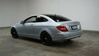 2012 Mercedes-Benz C-Class C204 MY13 C250 BlueEFFICIENCY 7G-Tronic + Silver 7 Speed Sports Automatic.