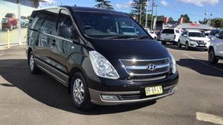 2012 Hyundai iMAX TQ-W MY13 Black 4 Speed Automatic Wagon