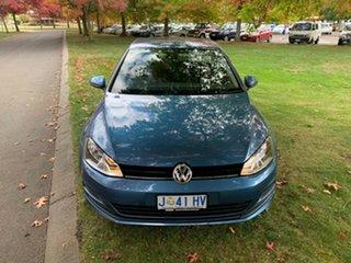 2017 Volkswagen Golf VII MY17 92TSI DSG Blue 7 Speed Sports Automatic Dual Clutch Hatchback.