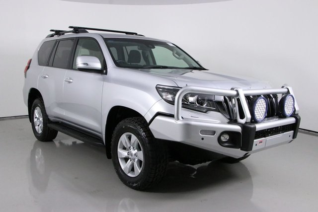 Used Toyota Landcruiser Prado GDJ150R MY18 GXL (4x4) Bentley, 2018 Toyota Landcruiser Prado GDJ150R MY18 GXL (4x4) Silver 6 Speed Automatic Wagon