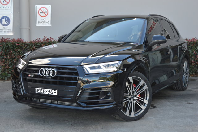 Used Audi SQ5 FY MY19 Tiptronic Quattro Maitland, 2019 Audi SQ5 FY MY19 Tiptronic Quattro Black 8 Speed Sports Automatic Wagon