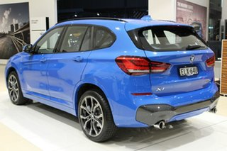 2020 BMW X1 F48 LCI xDrive25i Steptronic AWD Misano Blue Metallic 8 Speed Sports Automatic Wagon