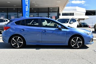 2020 Subaru Impreza G5 MY20 2.0i-S CVT AWD Quartz Blue 7 Speed Constant Variable Hatchback