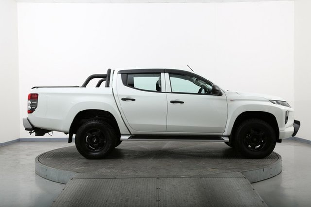 Used Mitsubishi Triton MQ MY18 GLX Homebush, 2018 Mitsubishi Triton MQ MY18 GLX White 6 Speed Manual Cab Chassis