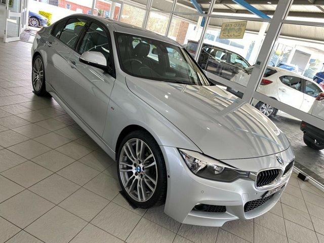 Used BMW 3 Series Taree, 2014 BMW 3 Series 320i - M Sport Silver Sports Automatic Sedan