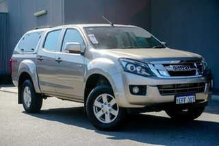 2013 Isuzu D-MAX MY12 LS-M Crew Cab Beige 5 Speed Manual Utility.