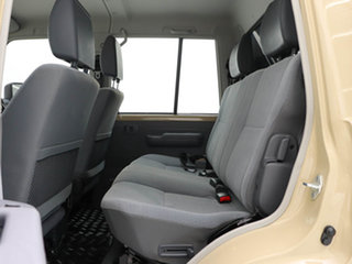 2020 Toyota Landcruiser 70 Series VDJ79R GXL Sandy Taupe 5 Speed Manual Double Cab Chassis
