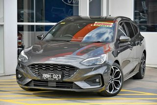 2018 Ford Focus SA 2019MY ST-Line Grey 8 Speed Automatic Wagon