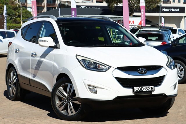 Used Hyundai ix35 LM Series II Highlander (AWD) Rosebery, 2013 Hyundai ix35 LM Series II Highlander (AWD) White 6 Speed Automatic Wagon