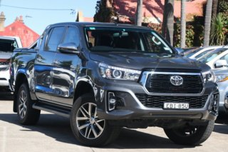 2018 Toyota Hilux GUN126R 4x4 Graphite 6 Speed Automatic Dual Cab.