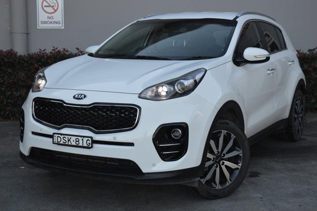 Used Kia Sportage QL MY17 SLi 2WD Maitland, 2017 Kia Sportage QL MY17 SLi 2WD White 6 Speed Sports Automatic Wagon