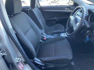 2012 Mitsubishi Lancer CJ MY12 Activ Silver 6 Speed Constant Variable Sedan
