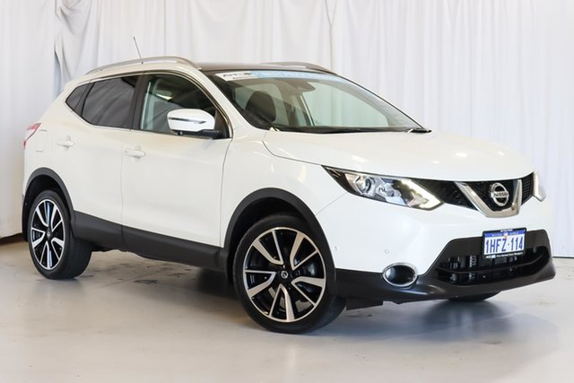 Used Nissan Qashqai J11 TI Wangara, 2017 Nissan Qashqai J11 TI White 1 Speed Constant Variable Wagon