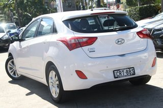 2014 Hyundai i30 GD MY14 Trophy White 6 Speed Manual Hatchback.