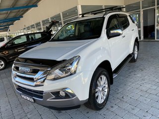 2017 Isuzu MU-X UC MY16.5 LS-T White 6 Speed Sports Automatic Wagon.