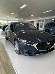 2021 Mazda 3 G20 EVOLVE Blue 6 Speed Automatic Sedan.