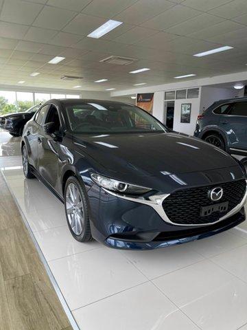 New Mazda 3 G20 Bowen, 2021 Mazda 3 G20 EVOLVE Blue 6 Speed Automatic Sedan