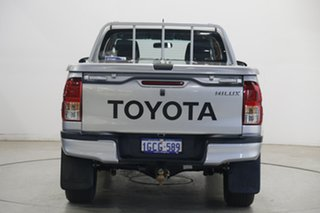 2016 Toyota Hilux GUN126R SR Double Cab Silver 6 Speed Sports Automatic Utility
