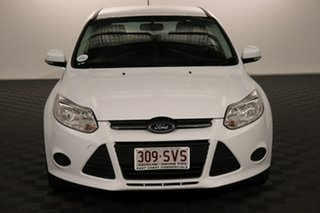 2013 Ford Focus LW MkII Ambiente PwrShift White 6 speed Automatic Hatchback.