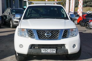 2013 Nissan Navara D40 S5 MY12 ST-X White 7 Speed Sports Automatic Utility.