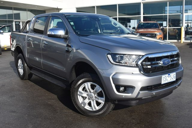 Used Ford Ranger PX MkIII 2020.25MY XLT Essendon Fields, 2020 Ford Ranger PX MkIII 2020.25MY XLT Silver 6 Speed Manual Double Cab Pick Up