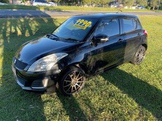 2014 Suzuki Swift FZ MY14 GL Black 4 Speed Automatic Hatchback.