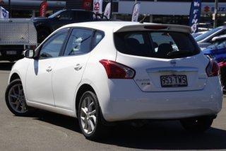 2013 Nissan Pulsar C12 ST-S White 1 Speed Constant Variable Hatchback.