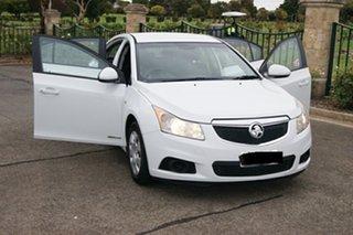 2011 Holden Cruze JH MY12 CD White 6 Speed Automatic Sedan