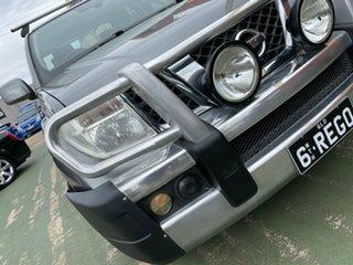 2010 Nissan Navara D40 ST Grey 6 Speed Manual Utility.
