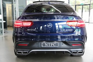 2018 Mercedes-Benz GLE-Class C292 MY809 GLE63 AMG Coupe SPEEDSHIFT PLUS 4MATIC S Blue 7 Speed