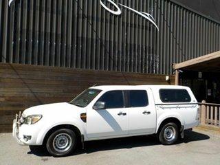 2010 Ford Ranger PK XL Crew Cab 4x2 White 5 Speed Automatic Utility