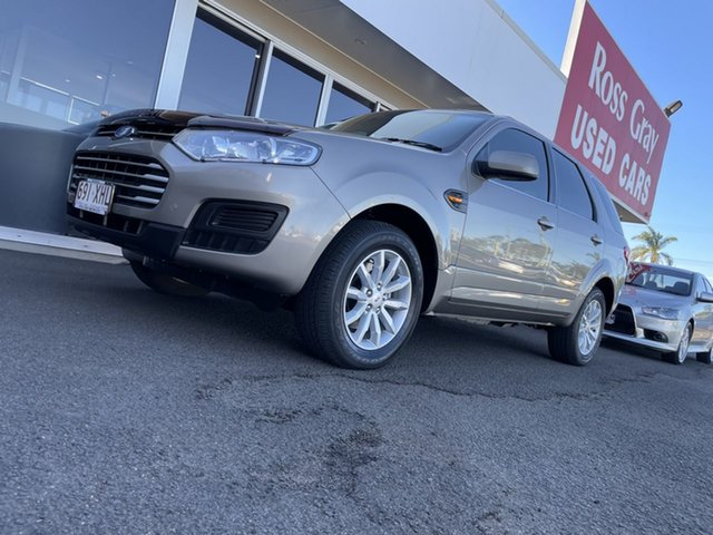 Used Ford Territory SZ MkII TX Seq Sport Shift Bundaberg, 2014 Ford Territory SZ MkII TX Seq Sport Shift Beige 6 Speed Sports Automatic Wagon
