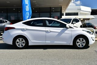 2015 Hyundai Elantra MD3 Active White 6 Speed Sports Automatic Sedan
