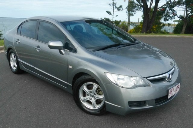 Used Honda Civic 8th Gen VTi-L Gladstone, 2006 Honda Civic 8th Gen VTi-L Grey 5 Speed Manual Sedan