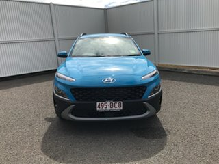 2020 Hyundai Kona Os.v4 MY21 Active 2WD Blue 8 Speed Constant Variable Wagon